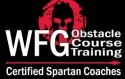 WFG obstacle course Training certified spartan coaches
