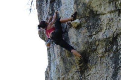 jen climbing