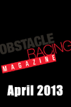 obstacle racing magazine April 2013