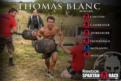 Thomas Blanc Spartan Cahmpion
