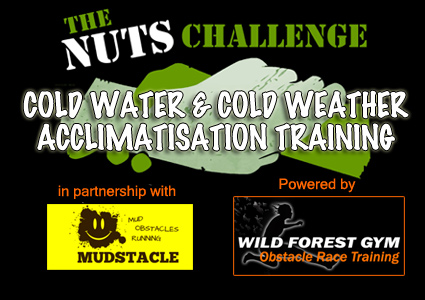 nuts challenge cold water training
