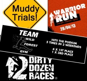 5 podium wins for TEAM Wild Forest Gym