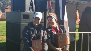 First Place Female at Spartan Sprint Perth