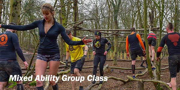 Mixed Ability Group Class