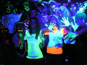 Glow in the Dark Obstacle Party