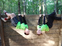 Kids on Inverted Walls