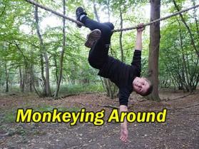 kids monkeying around