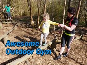 kids outdoor gym