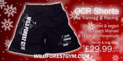 Christmas OCR Shorts